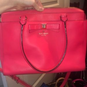 Coral kate spade new york Crossbody Tote